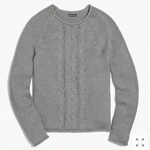 J. Crew Sweaters - J. Crew Cable Knit Roll Neck Sweater